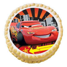 Disney Cars edible image cake sticker cupcake topper