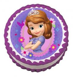 Sofia the First edible image cake sticker cupcake topper