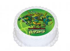 Teenage Mutant Ninja Turtles TMNT edible image cake sticker cupcake topper
