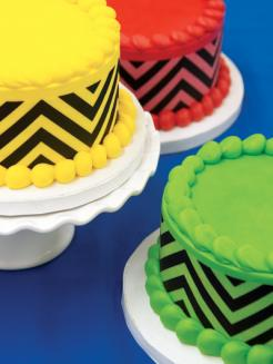 chevron cake stickers, chevron print cake toppers, chevron edible image, chevron cake print, chevron cake ideas, chevron