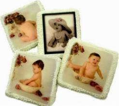 photo cookies edible image logo cookies
