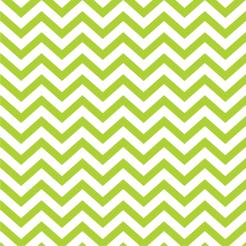 Chevron green cake sticker edible image cake decals toppers
