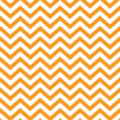 Chevron orange cake sticker edible image cake decals toppers