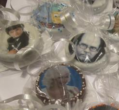 photo cookies, logo cookies, chocolate covered Oreo photo cookies