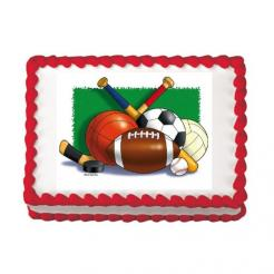 sports cake topper edible image sports cupcake toppers