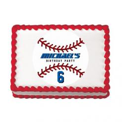 baseball cake topper edible image sports cupcake toppers
