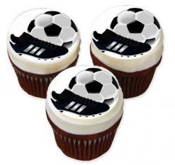 soccer cake topper edible image sports cupcake toppers
