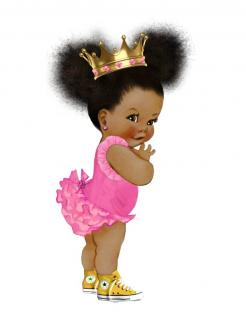 Afro Puff Vintage baby shower cake stickers, Afro Puff Vintage baby shower cake toppers, Afro Puff Vintage baby shower e