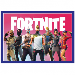 Fortnite cake topper cake sticker edible image