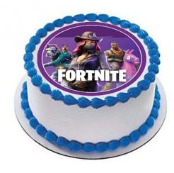 Fortnite cake topper edible image cake sticker