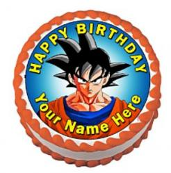 Dragon Ball Z edible cake topper cake sticker cake print