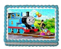Thomas the train cake topper edible image cake sticker 12
