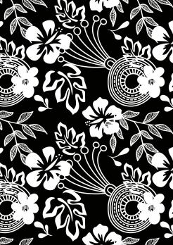 black and white damask edible image cake topper cake wrap 1