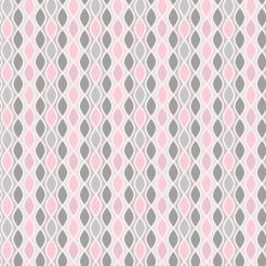 pink and gray edible cake wrap cake sticker topper 1