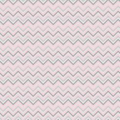Pink and Gray Designer Collection edible image cake wrap stickers