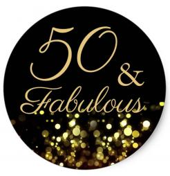 50 and fabulous cake topper edible image cupcake cake topper cake sticker