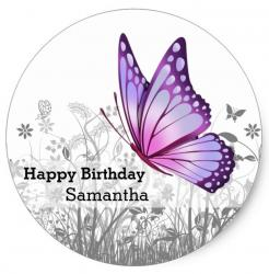 butterfly cake topper edible image cupcake cake topper cake sticker