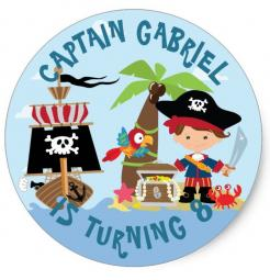 pirate cake topper edible image cupcake cake topper cake sticker
