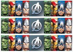 Avengers cake decals photo cakes stickers