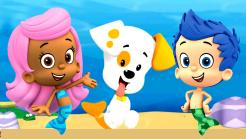 Bubble Guppies cake toppers edible image cake sticker