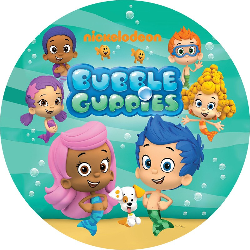 Bubble Guppies Edible Images for treats