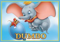 Dumbo cake sticker edible image cake decal