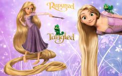 Rapunzel Tangled cake sticker edible image cake decal