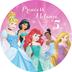 Disney Princess edible cake topper cake print 12
