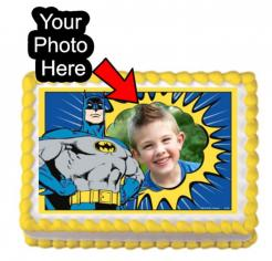 BAtman edible cake print edible image cake sticker