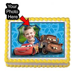 Disney Cars edible image cake topper edible print
