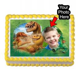 Dinosaur edible iimage cake topper sugar sheet cake print