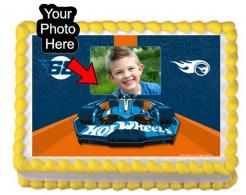 Hot Wheel edible cake topper edible image cake sticker print