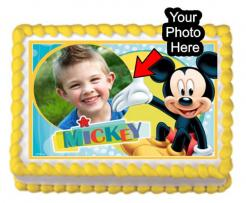Mickey Mouse edible image cake topper cake print