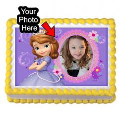 Sofia the First cake topper edible image cake print