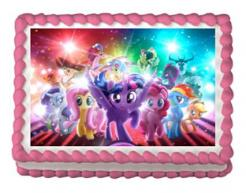 My Little Pony cake sticker edible image cake decal