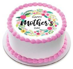 Mother's Day cake toppers edible image cake sticker