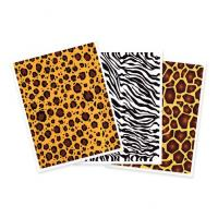animal print cake stickers
