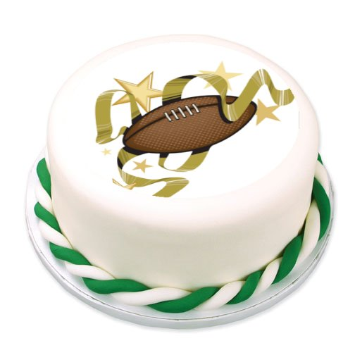 Zehrs Wedding Flowers: Edible Images Photo Cakes Cake Stickers Sports Themed