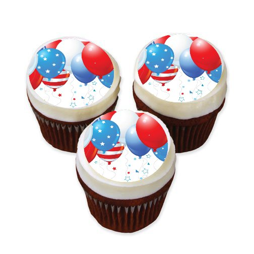 edible images photo cakes cake stickers Patriotic Themed Cake