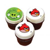 angry birds edible image cake sticker