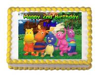 character edible image cake stickers