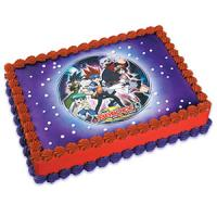 Beyblade edible image cake sticker