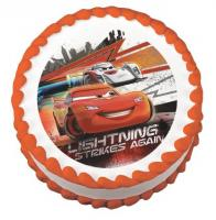Disney Cars sugar sheet