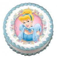 Cinderella edible image cake sticker