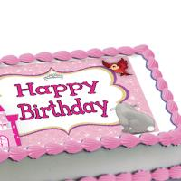 Sofia the First edible image cake sticker