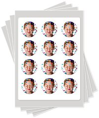 2 inch edible image cake stickers photo cakes