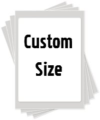 custom size edible image cake sticker sugar sheet