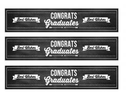 Chalkboard graduation edible image cake sticker photo cakes