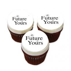 The future is your graduation cupcake sticker decals edible images
