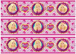 Barbie cake decals photo cakes stickers